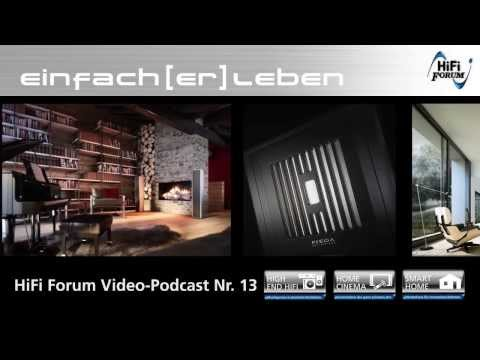 HiFi Forum Vodcast 13 - Piega im HiFi Forum