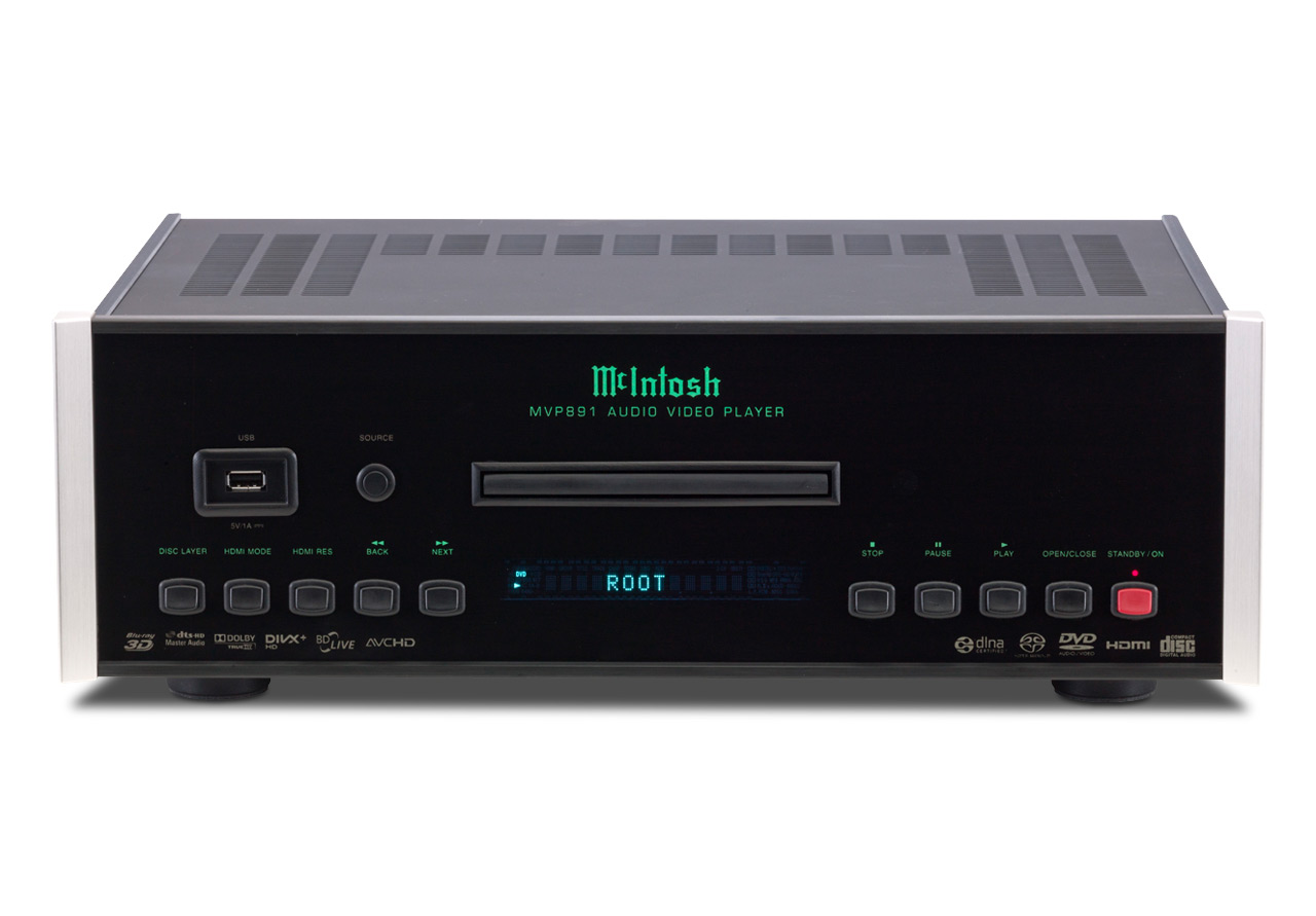 McIntosh MVP 891 AC - BluRay Multiplayer