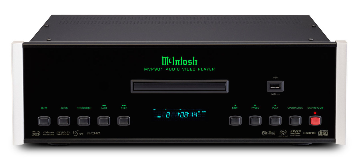 McIntosh MVP 901 AC - BluRay Multiplayer