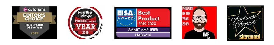 NAD M10 - Awards - HiFi Forum
